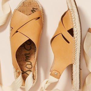 Anthropologie Sam Edelman  Espadrille Sandals US 7